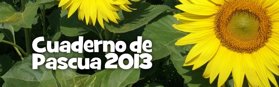 Photo of Cuaderno de Pascua 2013