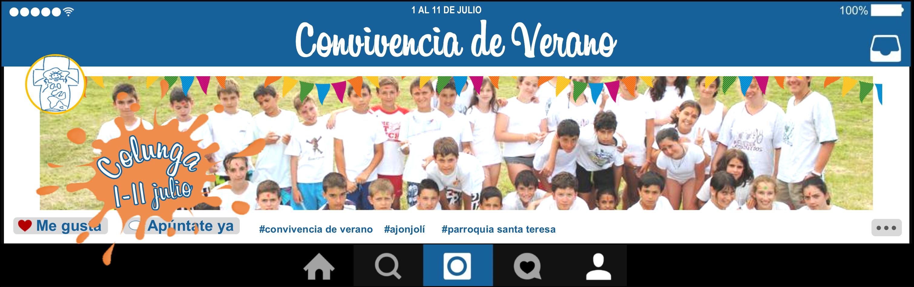 Photo of ¡NOVEDADES! Convivencia verano 2016