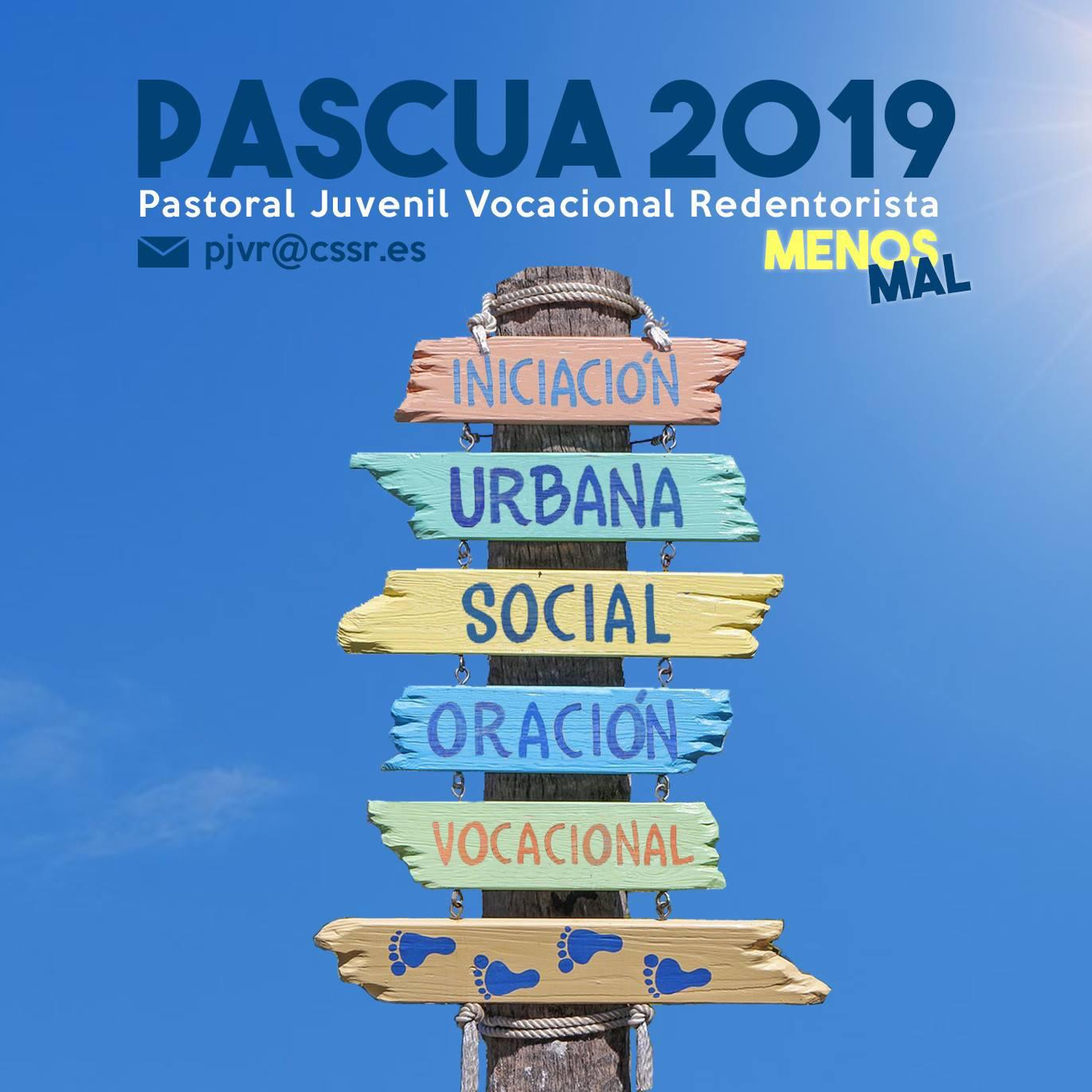 Photo of PASCUA 2019 – MENOS MAL