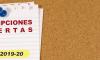 Inscripciones curso 2019-20