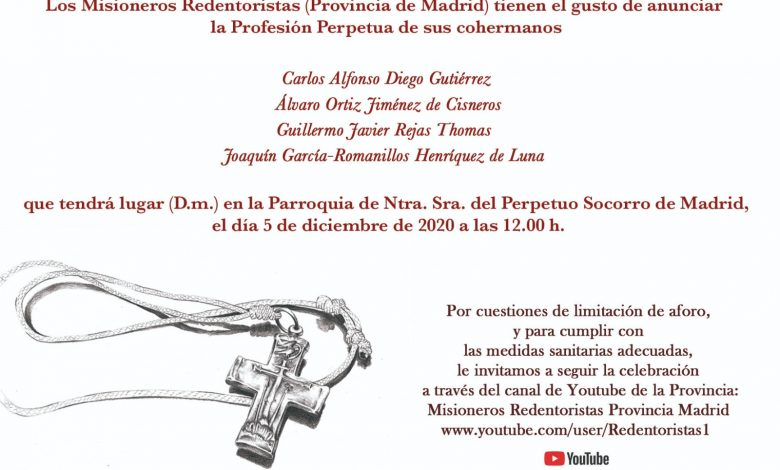 Photo of Profesión Perpetua